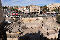 耶路撒冷老市 免版税库存照片