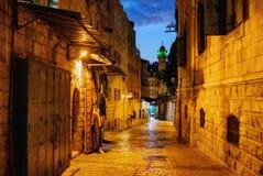 耶路撒冷老镇 免版税图库摄影