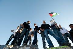 耶路撒冷行军拒付 库存照片