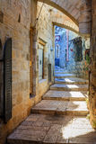 耶路撒冷街道 库存图片