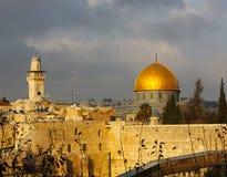 耶路撒冷视图 库存图片