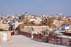 耶路撒冷运输路线和胡同 库存图片