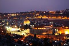 耶路撒冷金子 免版税库存照片
