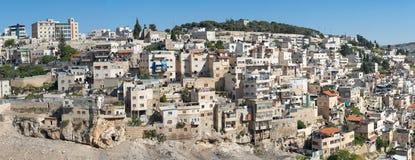 耶路撒冷阿拉伯人邻里 免版税库存照片
