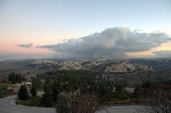 耶路撒冷雪人 库存图片