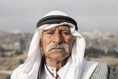 耶路撒冷,以色列- 2016年12月:阿拉伯人 图库摄影