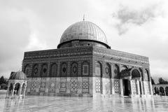 耶路撒冷,以色列- 2016年12月18日-岩石圆顶  免版税图库摄影