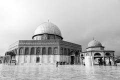 耶路撒冷,以色列- 2016年12月18日-岩石圆顶  库存照片
