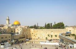耶路撒冷,哭墙,以色列 免版税图库摄影