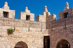 耶路撒冷,老城市,回教季度 免版税库存图片