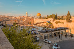 耶路撒冷,以色列,城市的看法 免版税库存照片
