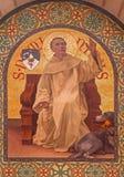 耶路撒冷-圣徒Dominc油漆在st斯蒂芬斯教会教会里从年1900年约瑟夫奥贝特 免版税图库摄影