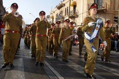 耶路撒冷3月 库存照片