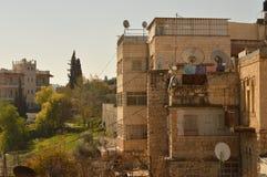 耶路撒冷 老城镇 库存图片