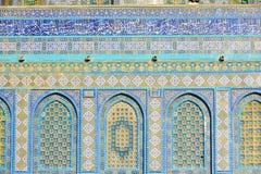 耶路撒冷以色列23 10 16 :详述叫作耶路撒冷高尚的圣所的圣殿山位于在老城耶路撒冷 免版税图库摄影