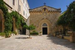 耶路撒冷wiew 库存照片