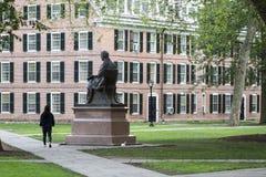 耶鲁大学校园 免版税库存照片