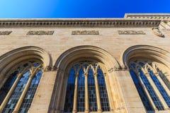 耶鲁大学美术画廊 免版税库存照片