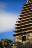 耸立在五座塔寺庙,北京ï ¼ ŒChina 免版税库存照片