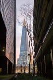 耸立在伦敦的碎片 图库摄影