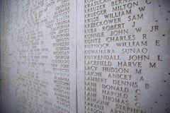 聂图诺-4月06日:下落的战士,美国的名字战争的 免版税库存照片