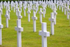 聂图诺-4月06日:坟茔,美国人的美国战争公墓 库存照片
