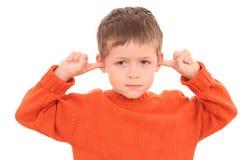 聋 免版税图库摄影