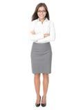 职业妇女年轻人 免版税库存照片