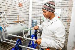 职业技能训练中心在非洲 免版税库存照片