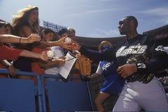 职业棒球球员 免版税图库摄影