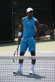 职业网球 免版税库存照片