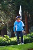 职业高尔夫球运动员丽迪雅Ko毕马威妇女的PGA冠军2016年 库存图片