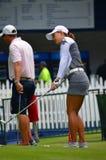 职业高尔夫球运动员Minjee李毕马威妇女的PGA冠军2016年 免版税库存照片