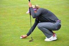 职业高尔夫球运动员Suzann Pettersen毕马威妇女的PGA冠军2016年 免版税库存图片