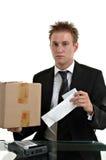 职员销售额 免版税库存照片