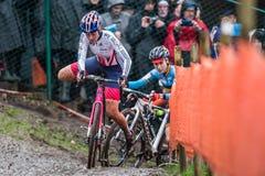 联合利华世界冠军Cyclocross -赫斯登Zolder,比利时 免版税库存照片