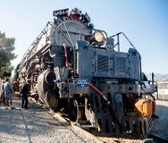 联合和平的大男孩4014蒸汽机车 库存图片