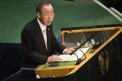 联合国大会在纽约 免版税库存图片