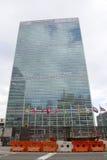 联合国大厦在曼哈顿 图库摄影