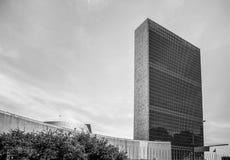 联合国大厦在纽约 图库摄影
