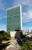 联合国大厦在纽约 免版税库存照片