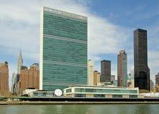 联合国大厦 免版税库存照片