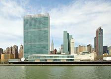 联合国大厦 图库摄影
