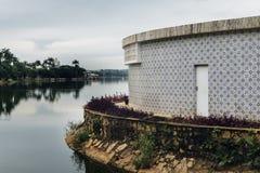 联合国科教文组织世界遗产名录站点Pampulha现代合奏 图库摄影