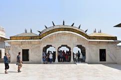 联合国科教文组织世界遗产名录站点阿格拉堡 免版税库存照片