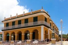 联合国科教文组织古巴大厦和建筑学在特立尼达3 免版税库存照片