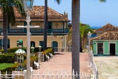 联合国科教文组织古巴大厦和建筑学在特立尼达4 免版税图库摄影