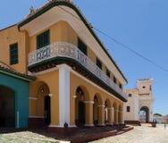 联合国科教文组织古巴大厦和建筑学在特立尼达5 免版税库存照片