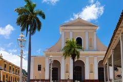 联合国科教文组织古巴大厦和建筑学在特立尼达6 图库摄影