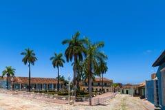 联合国科教文组织古巴大厦和建筑学在特立尼达9 免版税库存图片